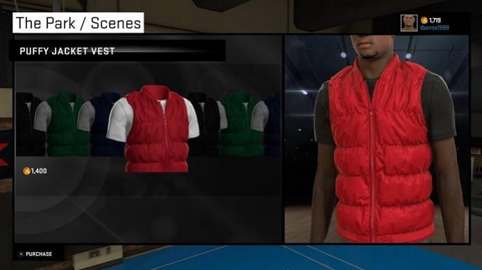 Compre roupas para deixar seu personagem estiloso (Foto: Reprodução/Thiago Barros) (Foto: Compre roupas para deixar seu personagem estiloso (Foto: Reprodução/Thiago Barros))