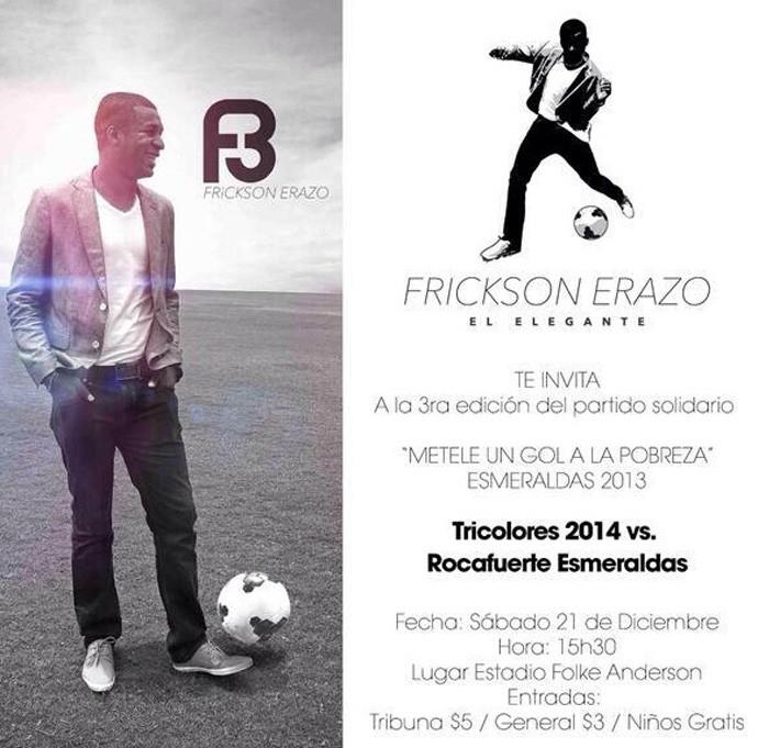 Erazo convite (Foto: Reprodução )