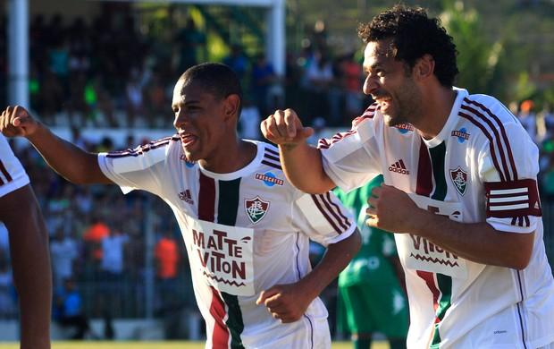 Fred comemora gol do Fluminense contra o Boavista (Foto: Nelson Perez / Fluminense FC)