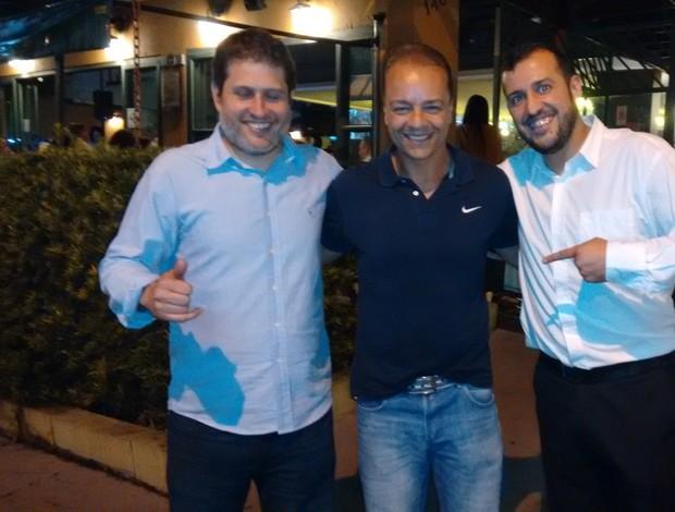 Pedro Vieira, André Pécora e Weberton Morais