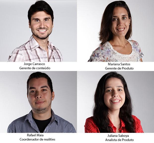 equipe (Foto: Camila Serejo)