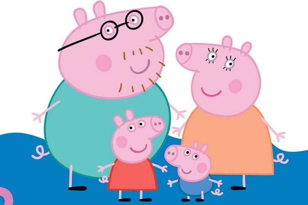 Mãe inglesa acusa o desenho 'Peppa Pig' de ensinar sua filha de dois anos a falar palavrão (Foto: Divulgação)