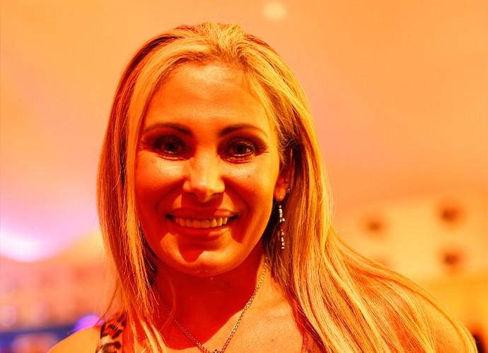 Ângela Bismarchi na Cidade do Rock (Foto: Jonas Feitosa/Gshow)