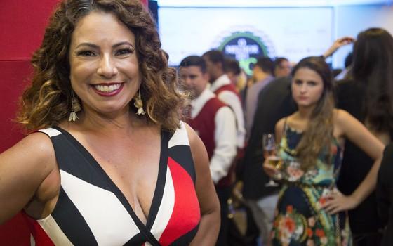 A jornalista Renata Araújo, do Yo Must Go, foi uma das juradas (Foto: Felipe O'neil/Época)