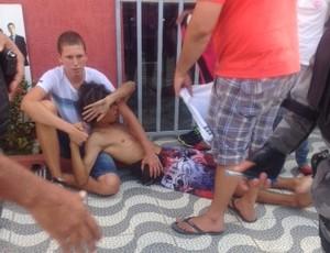 Briga torcida Sergipe - ASA (Foto: 7 Segundos)