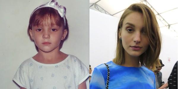 Isabel Hickmann tem a beleza no DNA da família e, apesar disso, não se achava uma criança bonita (Foto: Divulgação)