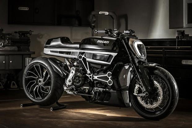 Ducati XDiavel foi bem customizada pelo preparador Fred Krugger (Foto: Divulgação)