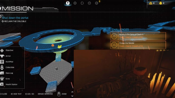Doom: veja a localização exata da nona alavanca de mapa clássico (Foto: Reprodução/Thomas Schulze)
