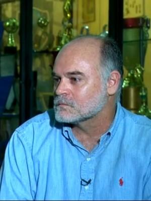 Maurício Assunção em entrevista exclusiva ao repórter Thiago Asmar (Foto: Reprodução - TV Globo)