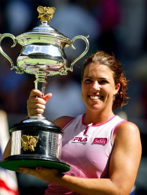 Jennifer Capriati no Australian Open 2001 (Foto: Getty)