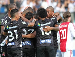 gol Vasco x Ajax (Foto: Marcelo Sadio / Site Oficial do vasco)