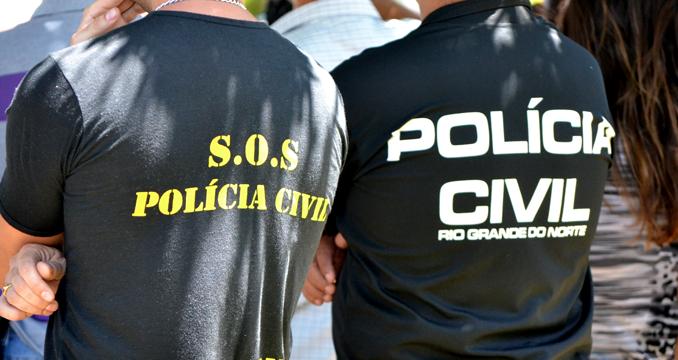 Polícia Civil do RN tem apenas 1.534 cargos ocupados do total de 5.150 previstos em lei (Foto: G1 RN)