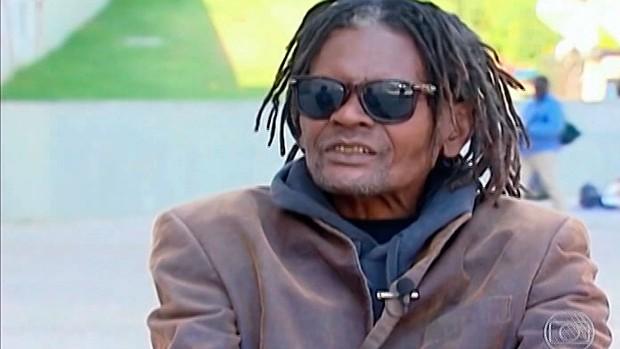 Perivaldo, ex-jogador da Seleção (Foto: Imagens/TV Bahia)