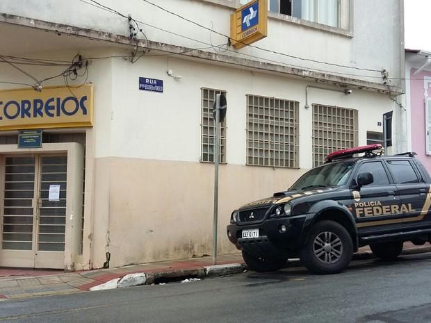 Polícia Federal foi acionada para acompanhar a investigação (Foto: São Roque Notícias/Cortesia)