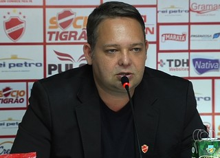 Guto Veronez, presidente do Vila Nova (Foto: Reprodução/TV Anhanguera)