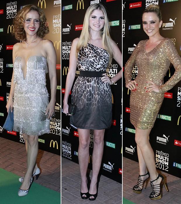 Leona Cavalli; Bárbara Evans; Nathalia Rodrigues (Foto: Ag News)