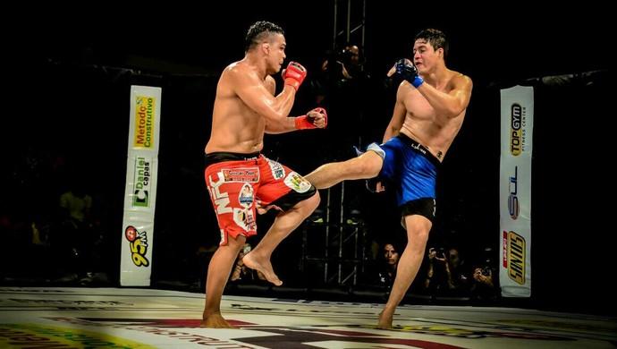 Henerson neném vence luta contra Joel Soares (Foto: Ewerton Silva/ arquivo pessoal )