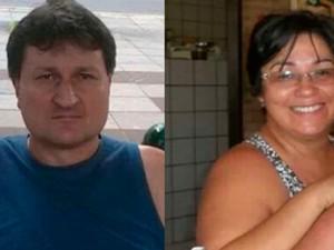 Casal Janadares Sfredo e Sérgio Sfredo, são suspeitos de serem os autores intelectuais do crime. (Foto: Ascom/PC)