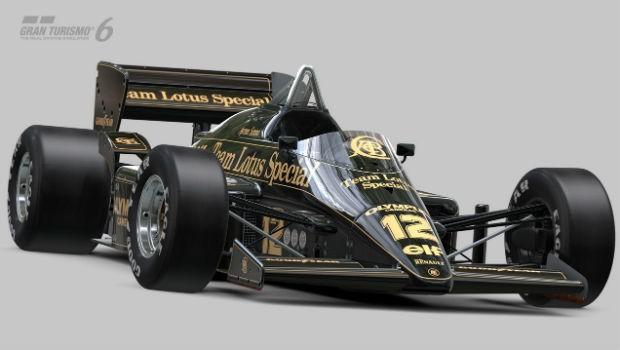 Lotus de Ayrton Senna em Gran Turismo 6 (Foto: Divulgação)