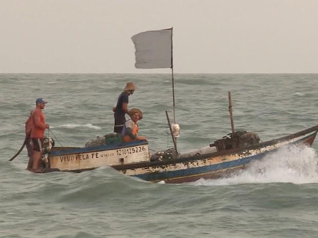 INSS começa a receber documentação de pescadores para pagamento do Seguro Defeso (Foto: Reprodução/TV Mirante)