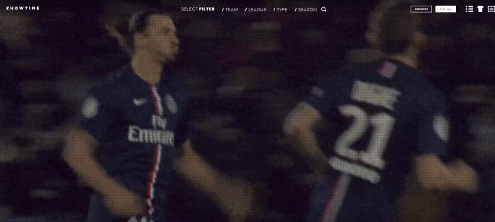 Ibrahimovic PSG Zhowtime