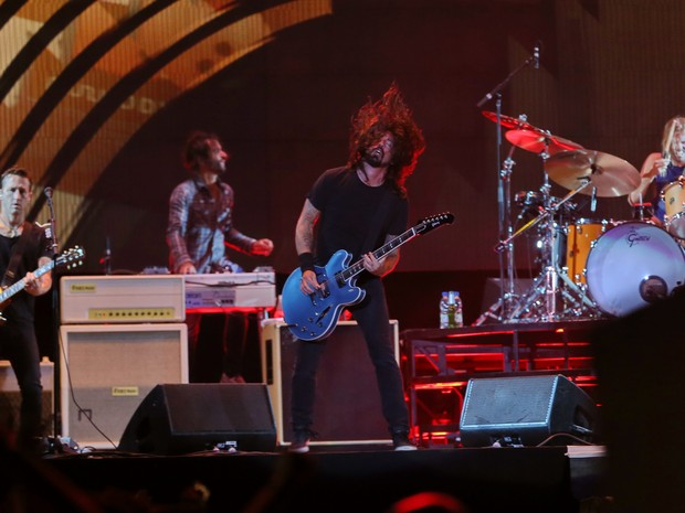 Show Foo Fighters Fiergs Porto Alegre (Foto: Júlio Cordeiro/Agência RBS)