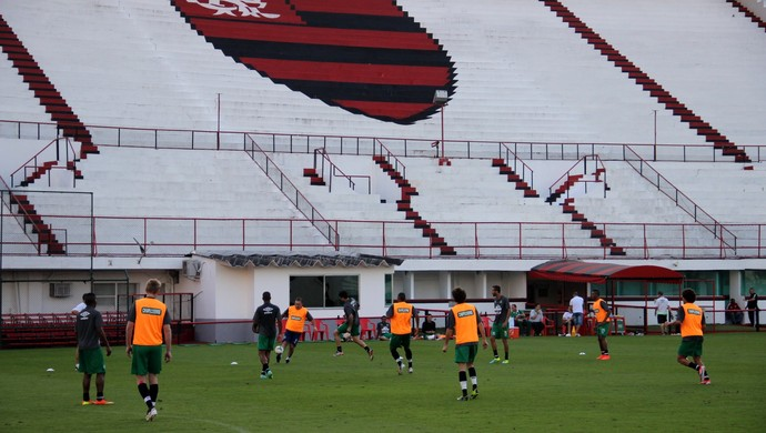 Chapecoense treino Gávea (Foto: Cleberson Silva/Chapecoense)