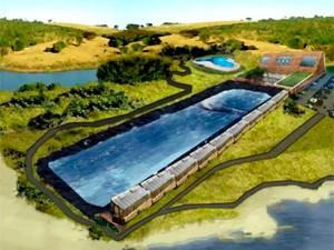 Surf camp será construído em Santo Antônio da Patrulha (Foto: reprodução )
