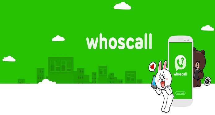 Line Whoscall (Foto: Reprodução)