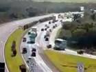 ERS-040 registra congestionamento na saída do Litoral Norte do RS