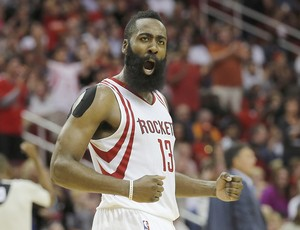 James Harden Houston Rockets NBA (Foto: Reuters)