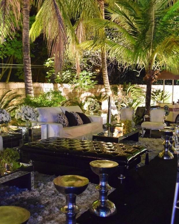 Decoração festa de Luana Piovani (Foto: Reprodução/Instagram)
