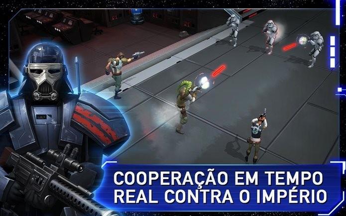 StarWars A Rebelião se passa no universo do novo filme (Foto: Divulgação / Kabam)