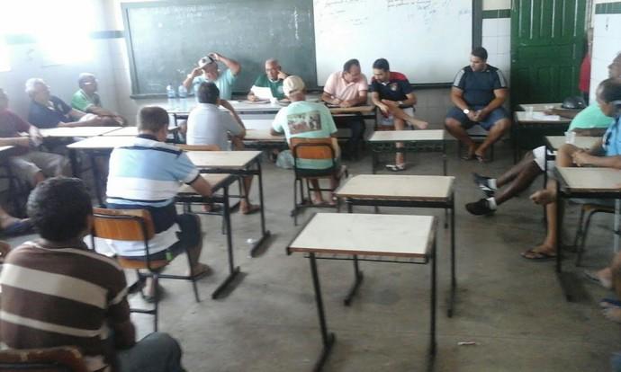guarany-se, reunião, guarany, porto da folha, sergipano (Foto: Divulgação / Guarany)