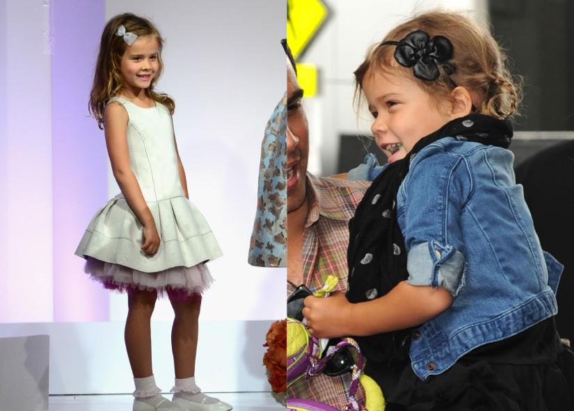Junto com sua mãe, Jessica Alba, a pequena Honor de 6 anos tem um estilo simples e casual. Normalmente, a garota usa saias soltas, cardigans, all star, além de sempre estar com um penteado diferente, acessórios e bolsas de mão. (Foto: Getty Images)
