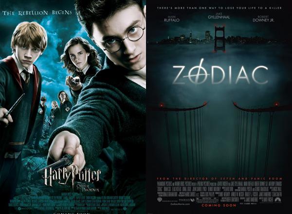 Harry Potter e a Ordem da Fênix e Zodíaco  (Foto: Divulgação)