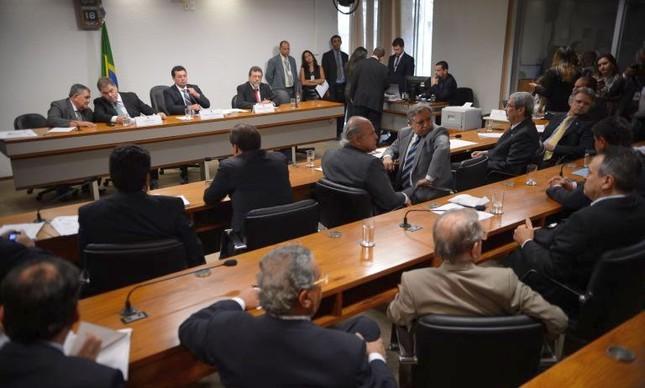 Reunião da CPMI da Petrobras para votar requerimentos (Foto: Fabio Rodrigues Pozzebom / Agência Brasil)