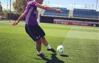 Lucas Silva é liberado pelos médicos  e volta a treinar com elenco do Real