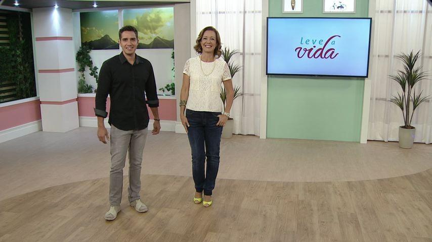Leve a Vida com Cesinha e Sandra (Foto: Divulgação/ TV Gazeta)