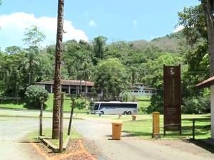 Parque da Caverna do Diabo fica em Eldorado, SP (Foto: Reprodução / TV Tribuna)