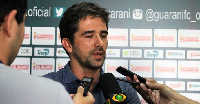 gerente de futebol, Rodrigo Pastana, Guarani (Foto: Gabriela Del Rio / Guarani FC)
