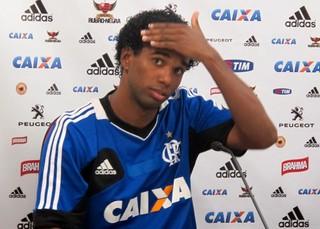 Luiz Antônio Coletiva Flamengo (Foto: Thales Soares)