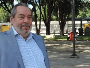 Fernando Bandeira, presidente da Urbana, diz que não é possível reajuste do tíquete refeição (Foto: Katherine Coutinho/G1)