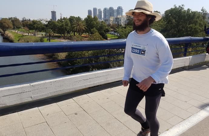 Maratona de Tel Aviv (Foto: Carla Gomes)