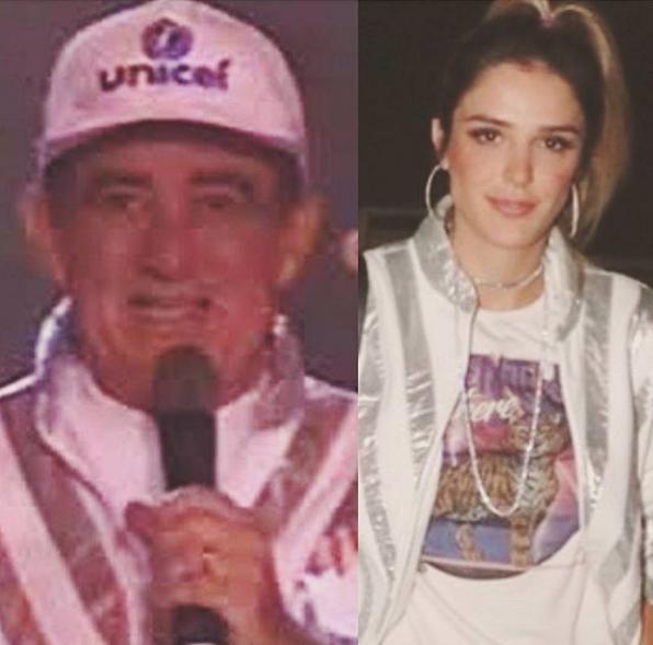 Rafa Brites faz comparação com Renato Aragão (Foto: Reprodução/Instagram)