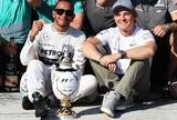 Lewis Hamilton e Nico Rosberg no GP da Hungria de 2013