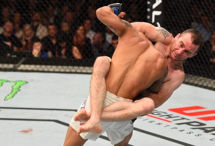 Neil Seery Jon Delos Reyes UFC Dublin 2 (Foto: Getty Images)