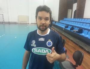 William levantador Cruzeiro  (Foto: Diego Alves)
