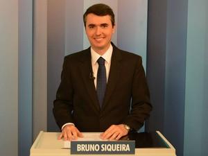 Bruno Siqueira (PMDB) candidato a prefeito de Juiz de Fora  (Foto: Rafael Antunes/G1)