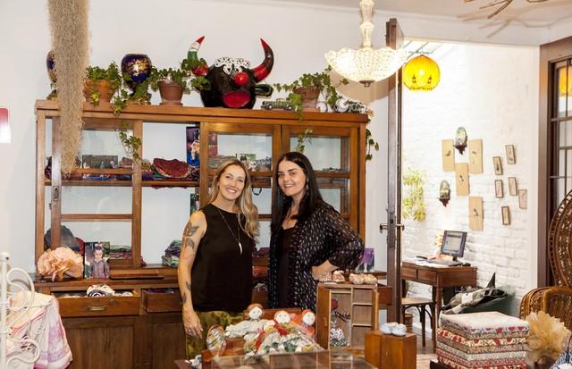 Carol Glidden e Nina Sander (Foto: Nathalie Bohm)
